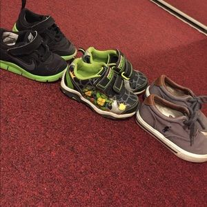 Nike Other - 3 pairs of size 7 shoes!