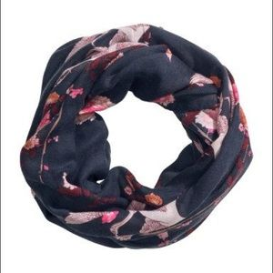 H&M Floral Infinity Scarf
