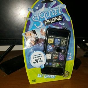 Other - prank squirt phone get a face full funny look!