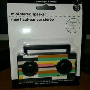 Other - mini boom box stereo speaker for cell phones