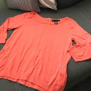 89th & Madison Sweaters - Soft and lightweight peach sweater