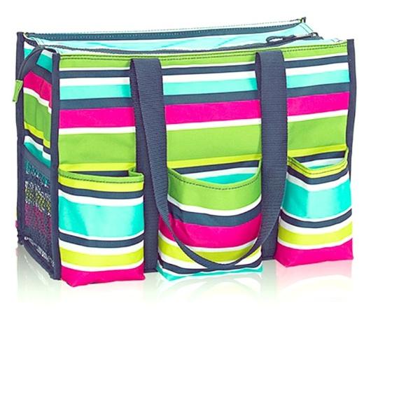 Thirty One Bags Brand Zip Top Organizing Utility Tote Poshmark