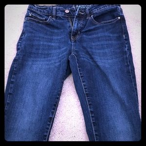 Gap always skinny jeans- size 2