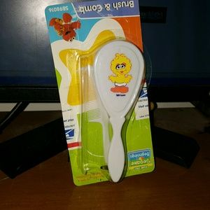 Other - newborn baby brush and comb set damaged package