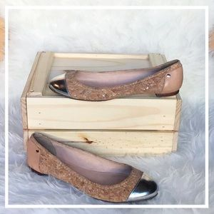 kate spade Shoes - Kate Spade Terry Flat - Cork/Silver