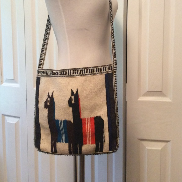 Boutique Bags   Llama Crossbody Purse Handmade In Peru   Poshmark a7927bf778