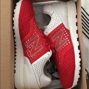 Other - Red lifestyle new balances