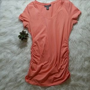 A Pea in the Pod Tops - Coral A Pea in the Pod Top