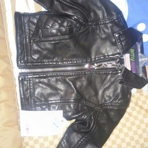 Amy Coe Other - Leather Jacket for baby girl