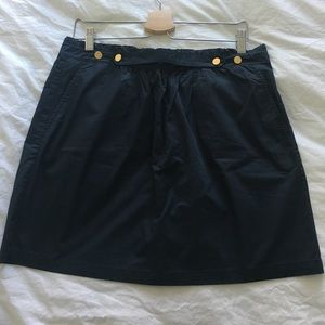  Navy mini skirt