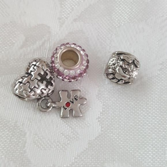Persona Charm Bracelet: Sterling Silver Charm Bracelet