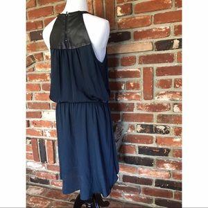 BCBGeneration Vegan Leather Tunic Dress M