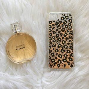 🆕 ⬇️ Leopard Liquid Glitter iPhone Case 🐯