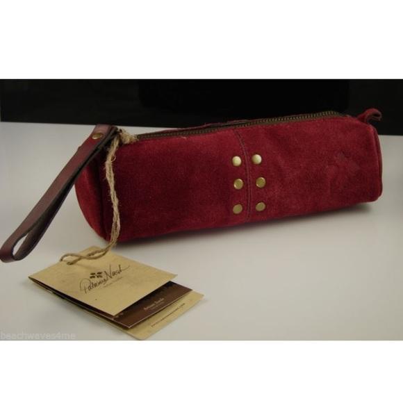 Patricia Nash Accessories Artisan Leather Suede Pencil