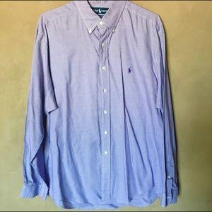 Ralph Lauren button down men's shirt