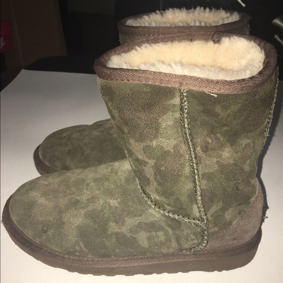 Army Fatigue Ugg boots