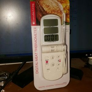 Other - digital meat thermometer pre_owned