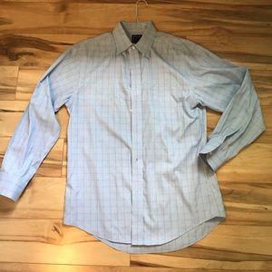 Jos A. Bank Mens Slim Fit Travelers Dress Shirt