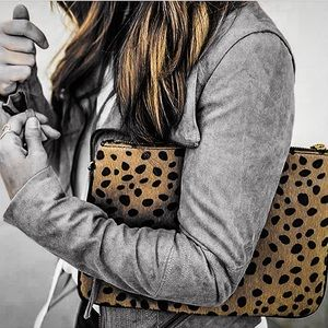Handbags - Lily Leopard Clutch. Popular clutch as seen on IG