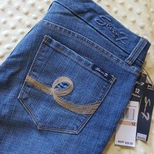 Seven7 Denim - Seven7 Medium Wash Boot Cut Jeans
