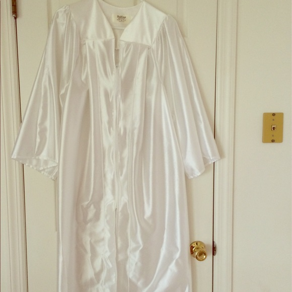 Jackets & Coats | White Balfour Graduation Gown | Poshmark