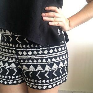 Top Shop beaded shorts