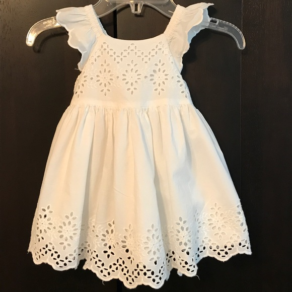 off GAP Other Baby Gap cream eyelet and ruffles