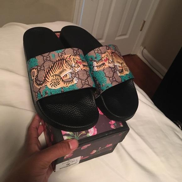 7dd6c8177204 Gucci Other - Men s Gucci Bengal slides Must go make offer