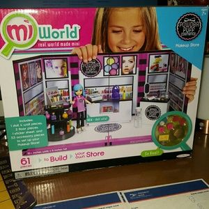 Other - mi world make up store 61pcs new in box