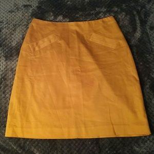 Worthington Dresses & Skirts - Worthington mustard yellow skirt size 6