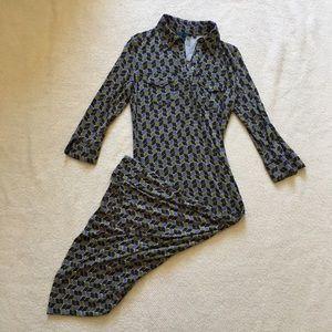 Boden Dresses & Skirts - Boden Long Sleeve Maxi Button Up Dress