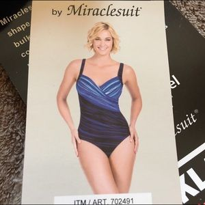 Miraclesuit Other - Slimming one piece swimsuit by Miraclesuit