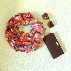 🆕 Tassel trim infinity scarf