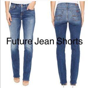7FAM Straightleg Jeans