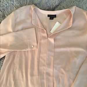 Tops - Light peach blouse