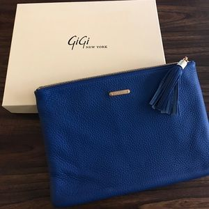 Gigi New York Blue Uber Clutch