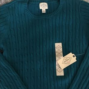 Sweaters - Turquoise sweater