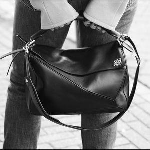 Loewe Handbags - Loewe Medium Puzzle Bag Black
