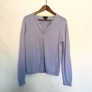 Lord & Taylor Sweaters - Lord &a Taylor Lilac Cardigan