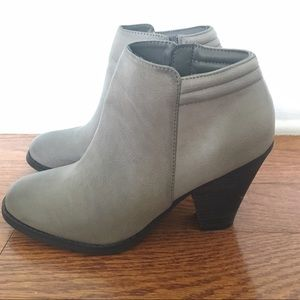 Mia Shoes - MIA Grey Ankle Boots