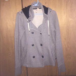 Element Jackets & Blazers - Element Gray Peacoat