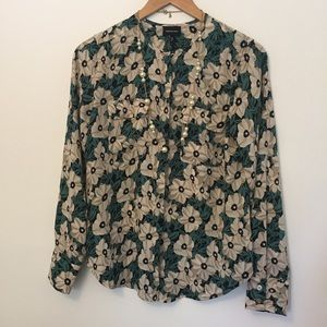 Who What Wear Tops - Who What Wear • Floral Blouse