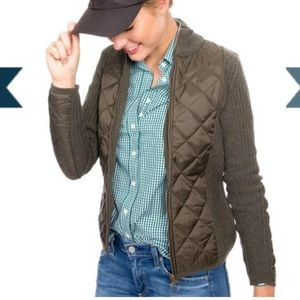 Barbour Jackets & Blazers - Barbour Quilted Knit Sporting Jacket