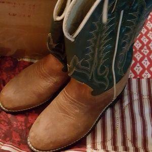 Tony Lama Other - Little boys Tony Lama cowboy boots  size 13