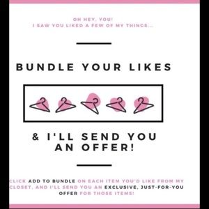 Other - Bundle Those Likes!!