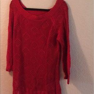 Rafaella Sweaters - Rafaella ruby red sweater