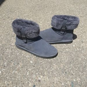BearPaw Shoes - Fold over Bearpaw boots