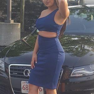 Dresses - Navy Midi