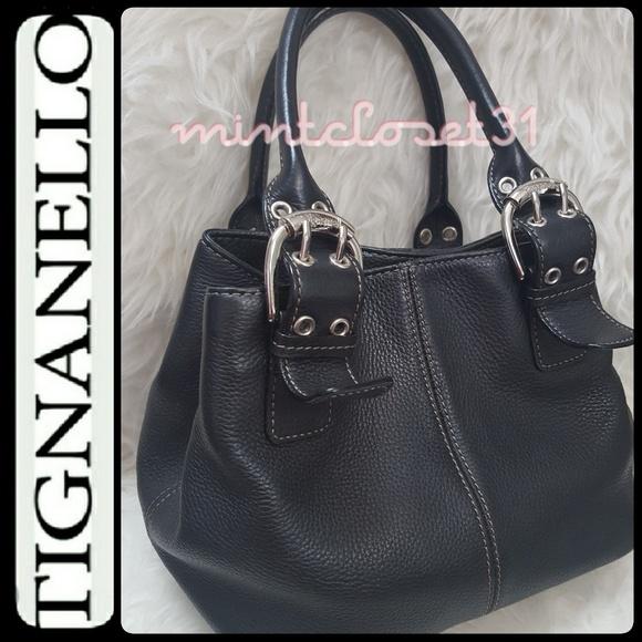 92457b0fc2 Tignanello Genuine Leather Tote Bag. M 594eb06d2ba50a782d00fbe9