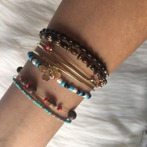Red Camel Jewelry - Assorted Beaded Bangles